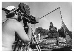 Frances Ford Coppola on the Set Fine Art Print