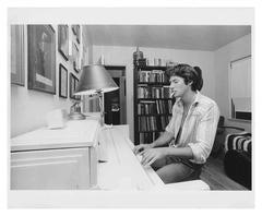 Richard Gere at the piano