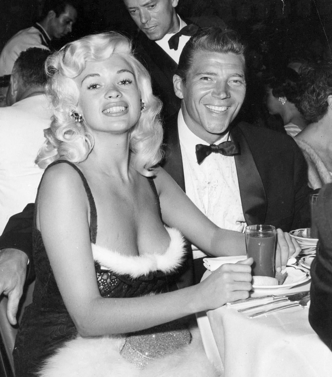 Unknown stunning jayne mansfield for sale at 1stdibs for Jayne mansfield and mickey hargitay