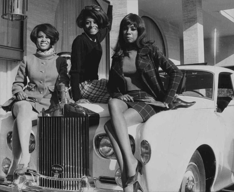Unknown The Supremes W Diana Ross Mary Wilson Cindy