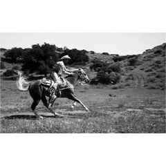 Roy Rogers Running Trigger at Full Speed Fine Art Print