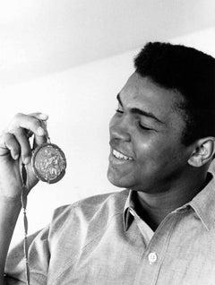 Muhammad Ali at Home Fine Art Print