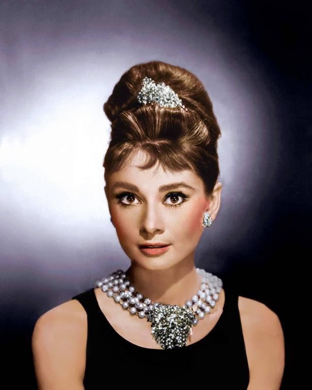 "Audrey Hepburn ""Breakfast at Tiffany's"" - Colorized Fine Art Print"