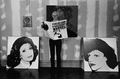 Andy Warhol - The Legendary King of Pop Art Fine Art Print