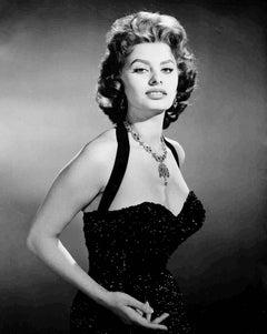 Sophia Loren Classical Portrait Fine Art Print