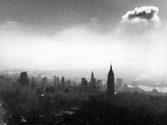 New York City Skyline - Manhattan Abstract View Fine Art Print