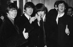 The Beatles Thumbs Up Fine Art Print