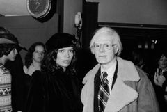 Bianca Jagger and Andy Warhol Fine Art Print