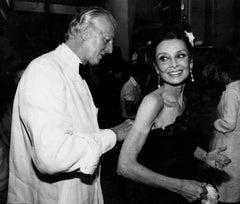 Audrey Hepburn and Designer, Givenchy Fine Art Print