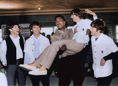 Muhammad Ali and The Beatles Miami, Colorized Fine Art Print