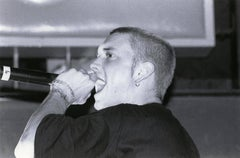 Eminem Closeup in Concert Vintage Original Photograph
