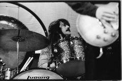 Led Zeppelin Drummer John Bonham Vintage Original Photograph