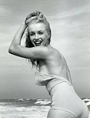 Andre de Dienes - Vintage Oversized Original Vintage Marilyn Monroe Print
