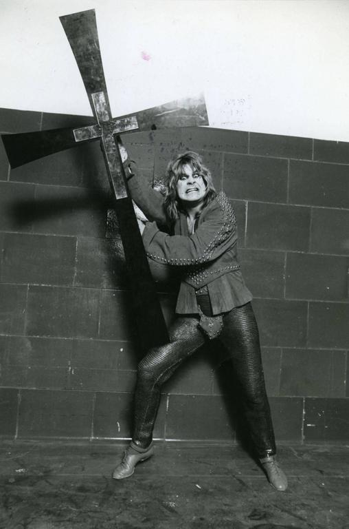 Unknown Vintage Original Ozzy Osbourne Photograph