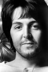 Paul McCartney Up Close Fine Art Print
