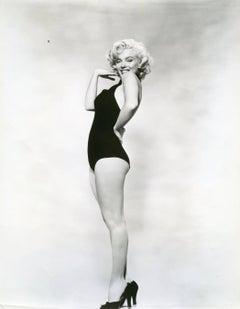 Marilyn Monroe in Black High Heels Vintage Original Photograph