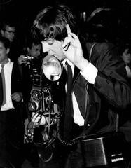 Paul McCartney and his Camera