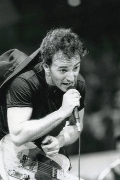 Bruce Springsteen Live in Concert Vintage Original Photograph