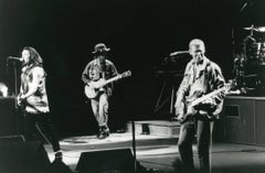 U2 in an Early Performance Vintage Original Photograph