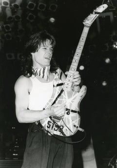 Eddie Van Halen Vintage Original Photograph