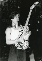 Eddie Van Halen incredible Original Vintage Photograph