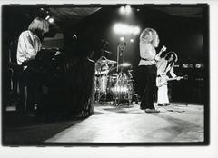 Incredible Oversized Vintage 1970's Photograph of Led Zeppelin