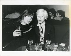 Andy Warhol and Nico Original Vintage Photograph