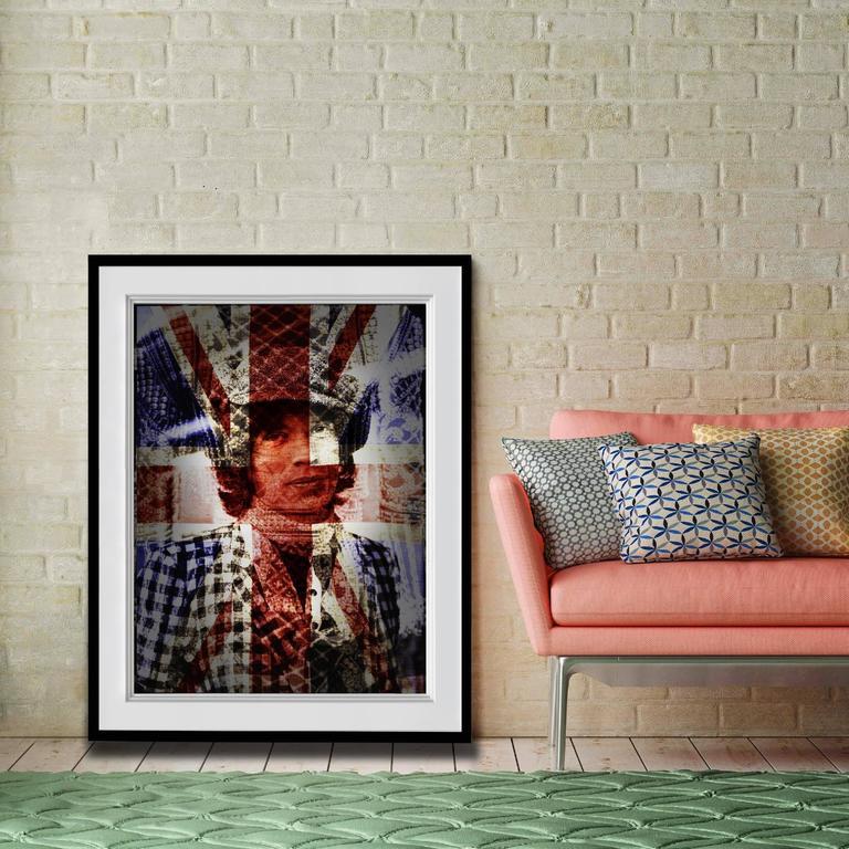 David Jordan Williams Portrait Print - Mick Jagger Mixed Media