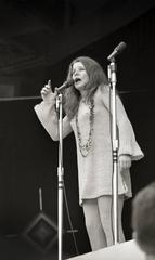 Janis Joplin performing at Monterey Pop Festival 1967