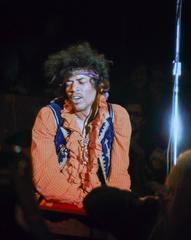 Jimi Hendrix at Monterey Pop Festival Fine Art Print