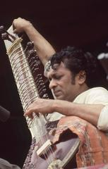 Ravi Shankar Playing Sitar at Monterey Pop Fesitval 1967