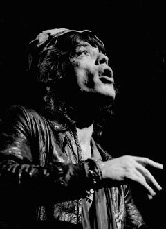 Mick Jagger Singing Into Light