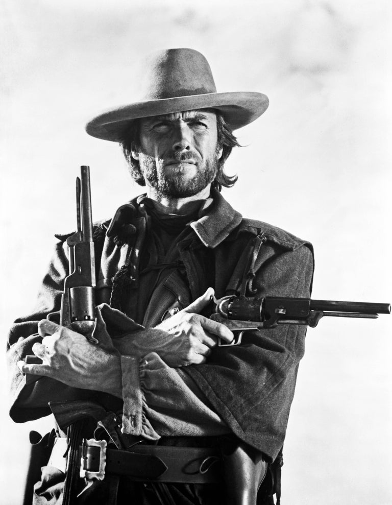 """Clint Eastwood in a scene from """"The Outlaw Josey Wales"""" Fine Art Print"""