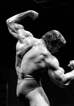 Arnold Schwarzenegger Bodybuilder Pose Fine Art Print