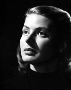 Ingrid Bergman Looking Up Fine Art Print