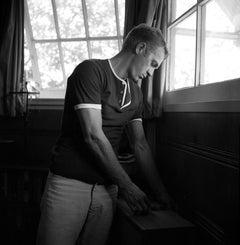 Steve McQueen at Home Fine Art Print