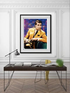 Cary Grant Mixed Media