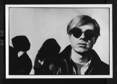 Andy Warhol Wearing Sunglasses Vintage Original Photograph