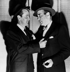 Alan Ladd and Humphrey Bogart