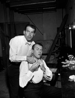 Fred McMurray and Jimmy Stewart