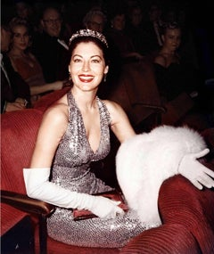 Ava Gardner at Academy Awards Fine Art Print