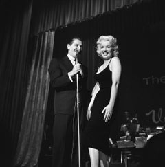 Marilyn Monroe and Milton Berle on Stage
