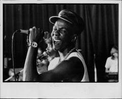 Bobby Brown Singing Vintage Original Print
