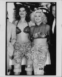 Madonna and Sandra Bernhard Vintage Original Photograph