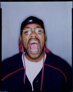 Method Man Closeup Studio Vintage Original Polaroid