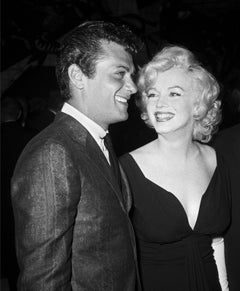 Marilyn Monroe and Tony Curtis Fine Art Print