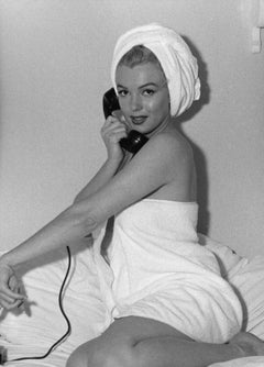 Marilyn Monroe in Towel Oversized Vintage Original Photograph
