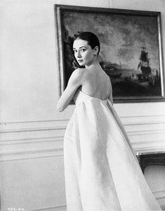 "Audrey Hepburn on the Set of ""The Nun's Story"" Fine Art Print"
