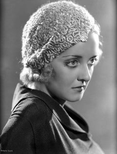 Bette Davis Profile Fine Art Print