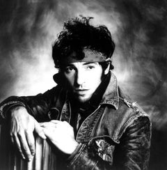 Young Bruce Springsteen Portrait Fine Art Print